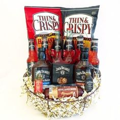 13 Fascinating Coffee Gifts For Grandma Liquor Gift Baskets, Best Gift Baskets, Wine Country Gift Baskets, Gourmet Gift Baskets, Gourmet Gifts, Raffle Baskets, Bbq Gifts, Candy Gifts, Wine Gifts