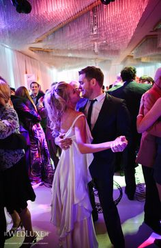 What a beautiful wedding! Michael Buble and Luisana Lopilato