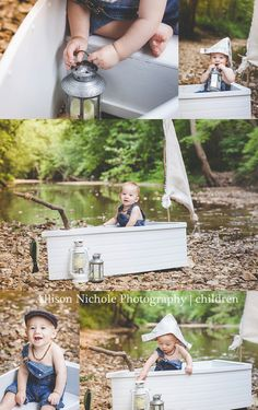 summer mini session by the creek