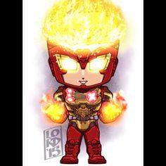 Arkham Knight: Firestorm Concept!!! Lord Mesa