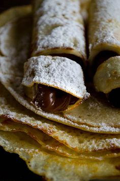 Very thin gluten free crepes | giverecipe.com | #crepe #glutenfree #riceflour