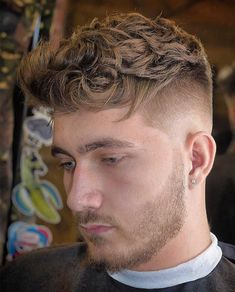 20+ Textured Haircut Ideas for Men - Men's Hairstyle Tips #quiffhaircut #menshairstyles #menshaircut #menshaircuts #texturedhaircut Top Fade Haircut, Crop Haircut, Short Textured Hair, Textured Haircut, Hairstyles Haircuts, Haircuts For Men, Medium Hairstyles, Wedding Hairstyles, Bald Taper Fade