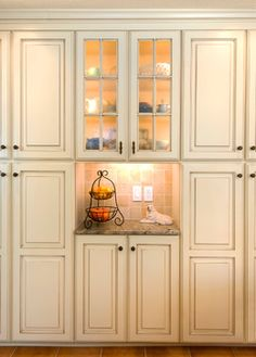Kabinart Cabinets, Cottage Kitchen, Under Cabinet Lighting