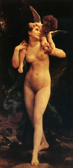 William Adolphe Bouguereau - Venus and Cupid