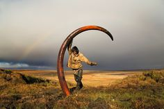 Kli, Mammoth tusk, Sibir or Alaska mining field 01 Rare Animals, Prehistory, Geology, Mammals, Alaska, Hunting, Journey, Photo And Video, World