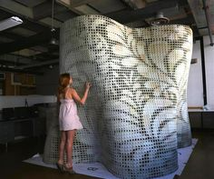 3ders.org - Emerging Objects to unveil 9-foot-tall, the largest 3D printed cement pavilion | 3D Printer News & 3D Printing News