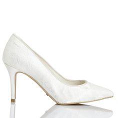 Zapato de novia estampado de Menbur (ref. 6233) Bridal shoes by Menbur (ref. 6233)