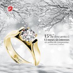 Anillo de Oro Amarillo 14kt SKU: YG1430129 Diamante Round 0.22 quilates. Color-F, Claridad VS1 Laboratorio - GIA-DGC, SKU Diamante: 75894, Precio: $ 21,148.31 pesos M.N *Consulte términos y condiciones.