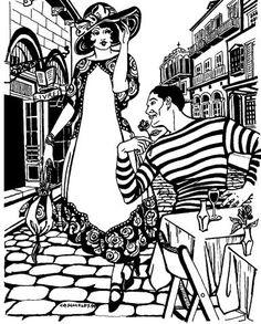 69 best folk wear patterns images clothes patterns clothing German Dirndl 261 paris promenade dress