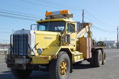This 1972 Autocar Wrecker Was Custom Built To Tow The Seemingly Untowable – Twin 60 Ton Winches!