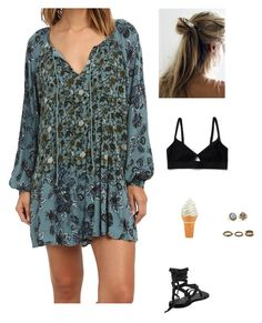 """Untitled #1342"" by tayloremily218 on Polyvore featuring Forever 21, Free People, Gurhan and Noor Fares"