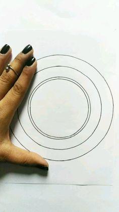 Art Drawings Beautiful, Art Drawings For Kids, Art Drawings Sketches Simple, Doodle Art Drawing, Mandala Drawing, Mandala Art Lesson, Art Painting Gallery, Doodle Art Designs, Indian Art Paintings