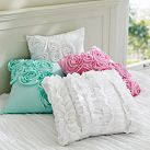 Ruffle & Rose Pillow Covers | PBteen $29