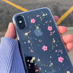 Online Shop Qianliyao Real Flowers Dried Flowers Transparent Soft TPU Cover For iPhone X 6 7 8 plus Phone Case For iphone XR XS Max Cover Kpop Phone Cases, Girly Phone Cases, Diy Phone Case, Iphone Phone Cases, Iphone Case Covers, Outdoor Handy, Tumblr Kpop, Apple Iphone, Telephone Iphone