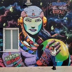 Deih in L'Alcudia, Valencia, 2020 Graffiti, Street Art, Valencia, Fictional Characters, Fantasy Characters, Graffiti Artwork, Street Art Graffiti