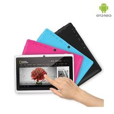 """Google Android 4.1 OS 1.2GHz 4GB 7"""" Tablet PC - Assorted Colors"""