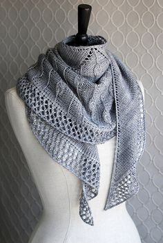 Baskerville shawl by DisgruntledOwl, via Flickr