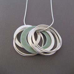 Multi coil pendant   Contemporary Necklaces / Pendants by contemporary jewellery designer Grace Girvan