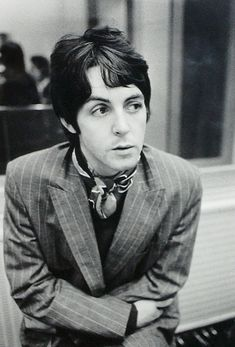 Paul McCartney in the early-late sixties.