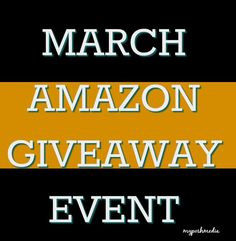 March $100 Amazon Giveaway Event