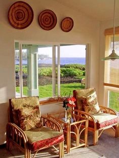 Hawaii Home Alcove Sunny Ideas From Hawaii Craigslist Love This Fabric! Two Rattan  Chairs ...