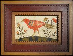 Ca. 1791-1804 SONGBIRD ENGRAVER ARTIST - PENNSYLVANIA