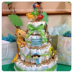 Lisa C's Baby Shower / Disney's Lion King - Photo Gallery at Catch My Party Lion King Nursery, Lion King Theme, Lion King Party, Baby Shower Diapers, Baby Shower Games, Baby Boy Shower, Baby Simba, Lion King Baby Shower, Shower Party