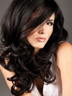 Love this long layered natural long hair cut black hair. I want my hair dark again.