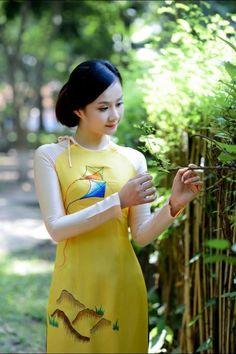 Dịu dàng con gái Việt!