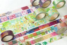 New-Japanese Washi Masking Tape  Little Path by littlehappythings1