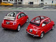 A brace of cinquecento Fiat 500