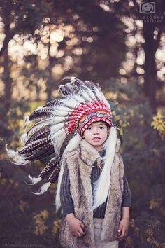 """""""...and forget not that the earth delights to feel your bare feet and the winds long to play with your hair.""""  - Kahlil Gibran  www.belleyoung.com.au  photography belle young child kids creative tasmania photographer portrait vintage classic winter autumn spring summer Indian feather headdress"""