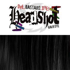 """Im Gegensatz zu unseren knalligen, bunten Farben sollten die Haare für ein gutes Ergebnis mit """"Headshot Blackout"""" auf keinen Fall vorher blondiert werden! Je dunkler deine Haarfarbe ist, desto besser. Mit 150 ml Inhalt ist in den..."""