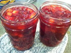 cranberry pecan conserve - canning recipe
