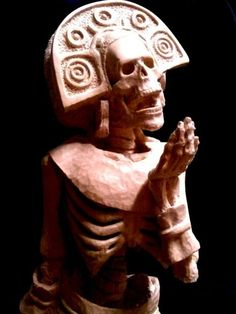 Mictecacihuatl, goddess of death and Lady of Mictlan, the underworld.""