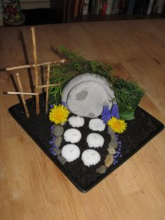 Mommys Monkeys: Easter Garden. add this to the sensory bin next year.