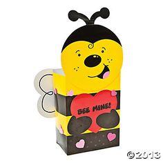 Valentine Bee Card Box Craft Kit