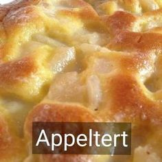 Kos is oppie Tafel Tart Recipes, Apple Recipes, My Recipes, Baking Recipes, Favorite Recipes, Recipies, Braai Recipes, South African Desserts, South African Recipes