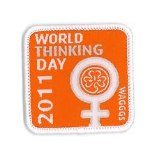 Girl Guide Scout Brownie BADGE PATCH – new! ~ Thinking Day WAGGGS Womens Rights