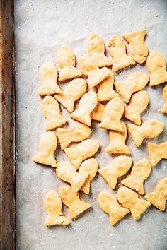 Homemade Goldfish Crackers | gluten free