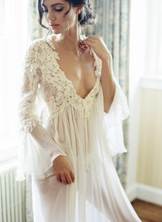 Boudoir shoot: Photography: Lisa Blume Photography - http://www.LisaBlume.co Wedding Dress: Temperly London - http://www.stylemepretty.com/portfolio/temperly-london   Read More on SMP: http://www.stylemepretty.com/2017/02/13/the-perfect-valentines-day-gift-idea-for-your-groom/