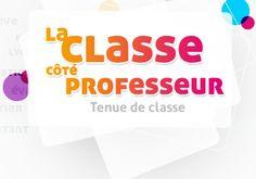 """L'année de stage. Des fiches pratiques pour la gestion de classe sous l'onglet """"Ressources""""."""