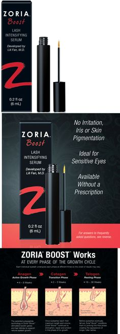 ab1f733923c Lash Growth and Conditioner: Zoria Boost Lash Intensifying Serum, Fast  Shipping, Brand New! -> BUY IT NOW ONLY: $85.98 on eBay! Watts Eye  Associates
