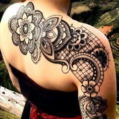 Maori Ornament Tattoo Back Arm  - http://tattootodesign.com/maori-ornament-tattoo-back-arm/  |  #Tattoo, #Tattooed, #Tattoos