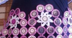 Dantel havlu kenarı modeli