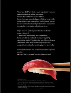 About Sushi