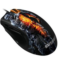 Real gamers need a real mouse, not some cheap point and click business dude's mouse. The Battlefield 3 Play Station 3, Battlefield 3, Pc Mouse, Gaming Accessories, Cool Tech, Pc Gamer, Cool Gadgets, Video Game Console, Computer Mouse