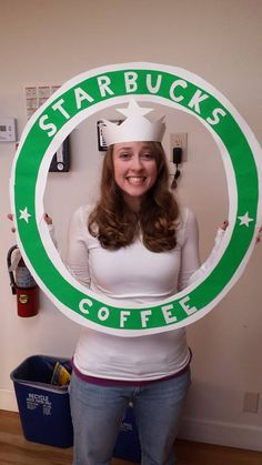 Starbucks logo costume