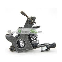 US$2.39 - New Arrival Classical Iron Tattoo Machine Gun for shader Liner 8 Wrap Coils