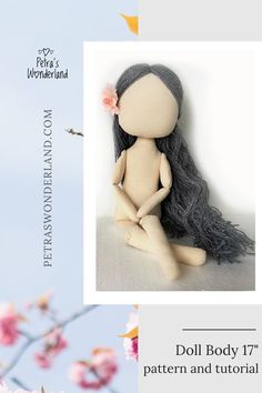 Outstanding 30 sewing hacks projects are offered on our internet site. Take a look and you wont be sorry you did. Free Printable Sewing Patterns, Doll Patterns Free, Doll Sewing Patterns, Sewing Dolls, Doll Clothes Patterns, Diy Rag Dolls, Sewing Projects For Beginners, Sewing Tutorials, Sewing Crafts